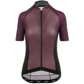 Bioracer Sprinter SS Jersey Cold Black Light Women, bordeaux